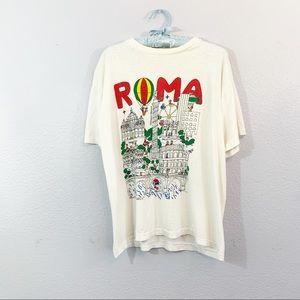 Vintage Single Stitch Italia Roma T-Shirt